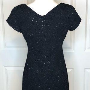 david warren Dresses - Vintage David Warren Dress 2 Black Sparkle 1990s